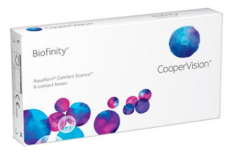Контактные линзы biofinity toric